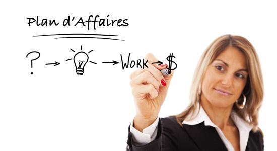 Tableau - Plan d'Affaires - Idée Business