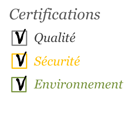 Certification QSE