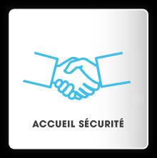 logo accueil sécurité
