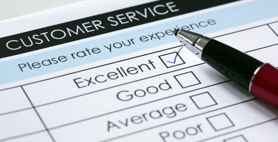 Service Client - Formulaire - Sondage